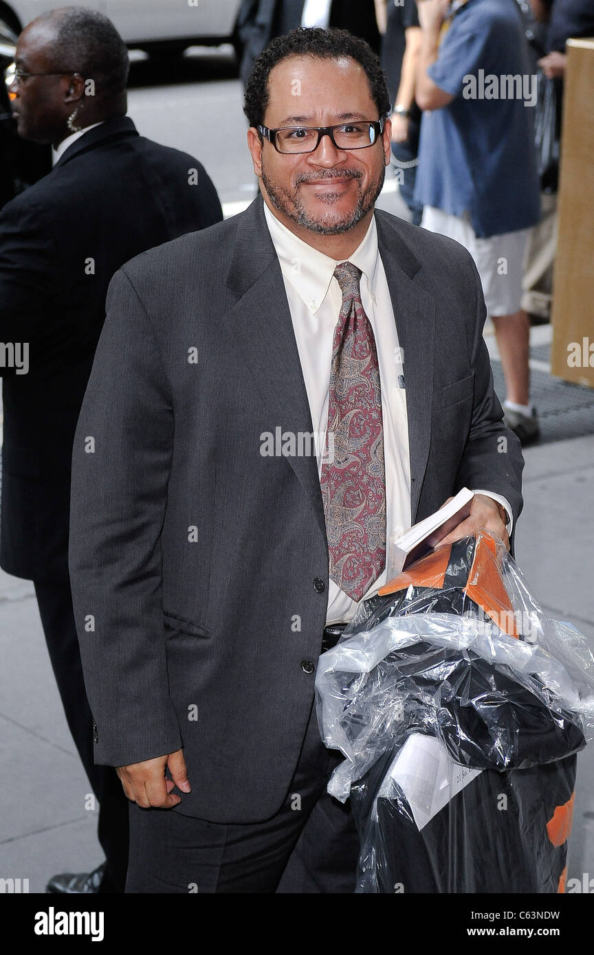 Michael Dyson, enters Cipriani 42nd Street out and about for CELEBRITY CANDIDS - SATURDAY, , New York, NY July 10, - Stock Image