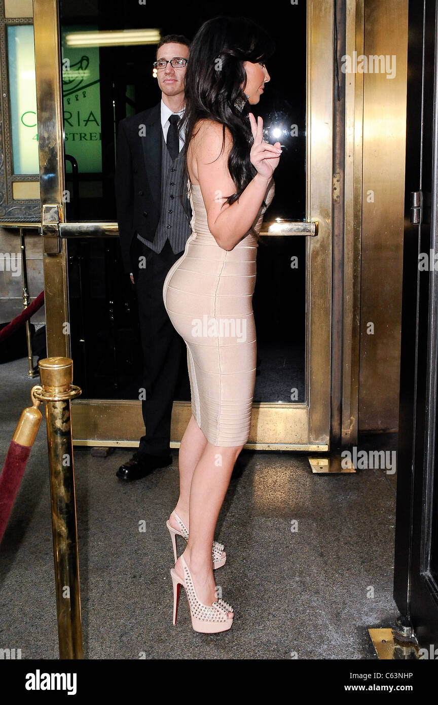 Kim Kardashian, enters Cipriani 42nd Street out and about for CELEBRITY CANDIDS - SATURDAY, , New York, NY July - Stock Image