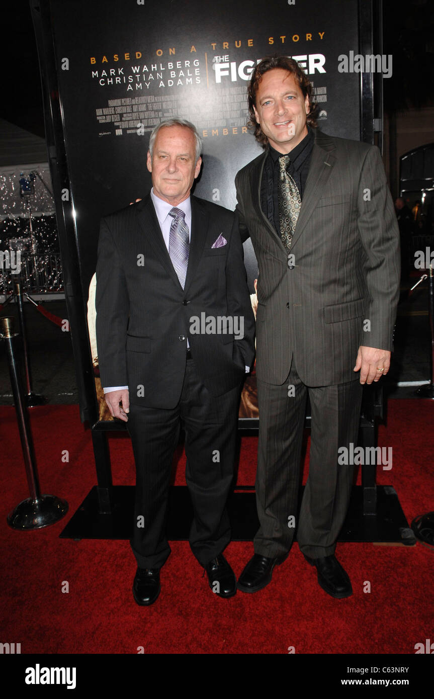 David Hoberman, Todd Lieberman at arrivals for THE FIGHTER Premiere, Grauman's Chinese Theatre, Los Angeles, - Stock Image