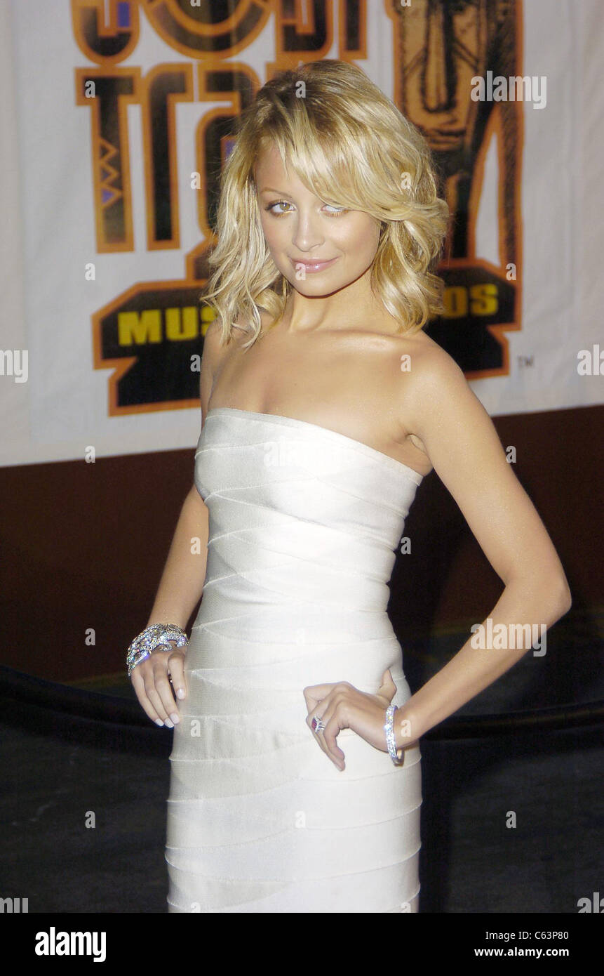 Nicole Richie at arrivals for 2005 Soul Train Music Awards, Paramount Studios, Los Angeles, CA, Monday, February - Stock Image