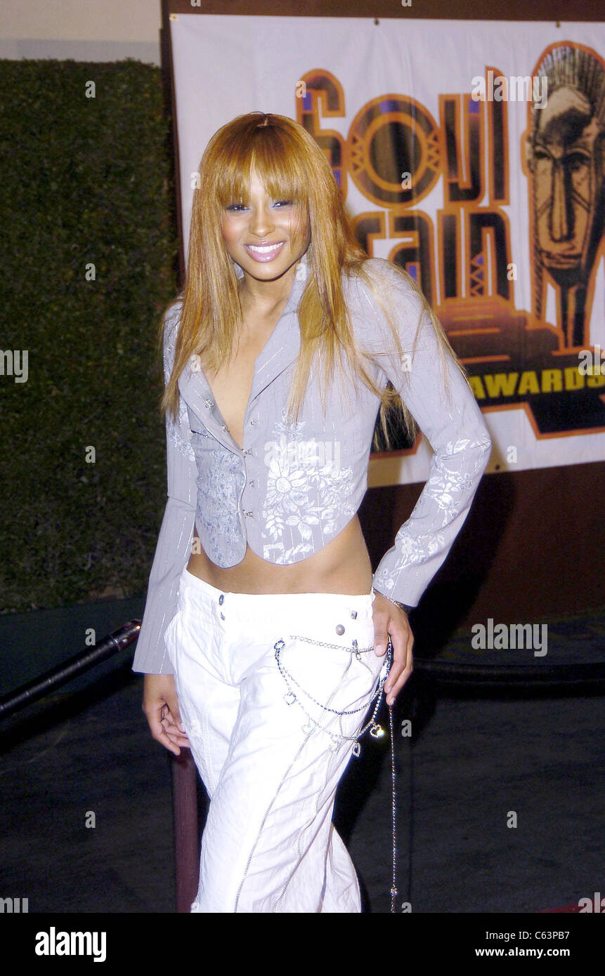 Ciara Harris at arrivals for 2005 Soul Train Music Awards, Paramount Studios, Los Angeles, CA, Monday, February - Stock Image