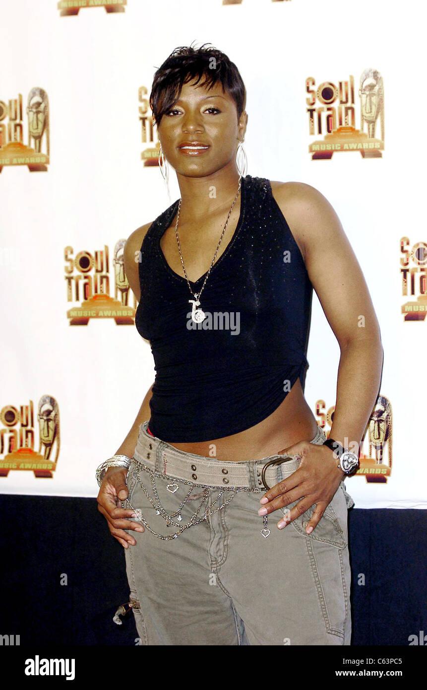 Ebony Eyez in the press room for 2005 Soul Train Music Awards, Paramount Studios, Los Angeles, CA, Monday, February - Stock Image