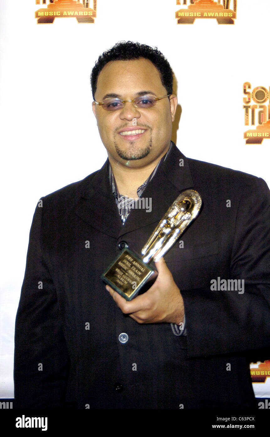 Israel in the press room for 2005 Soul Train Music Awards, Paramount Studios, Los Angeles, CA, Monday, February - Stock Image