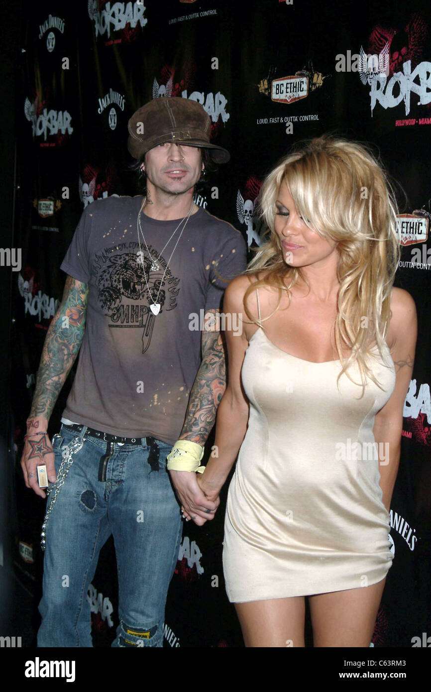 Tommylee and pam anderson