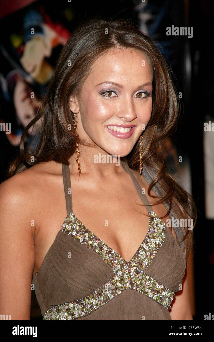 Crystal Lowe at arrivals for FINAL DESTINATION 3 Premiere, Grauman's Chinese Theatre, Los Angeles, CA, February - Stock Image