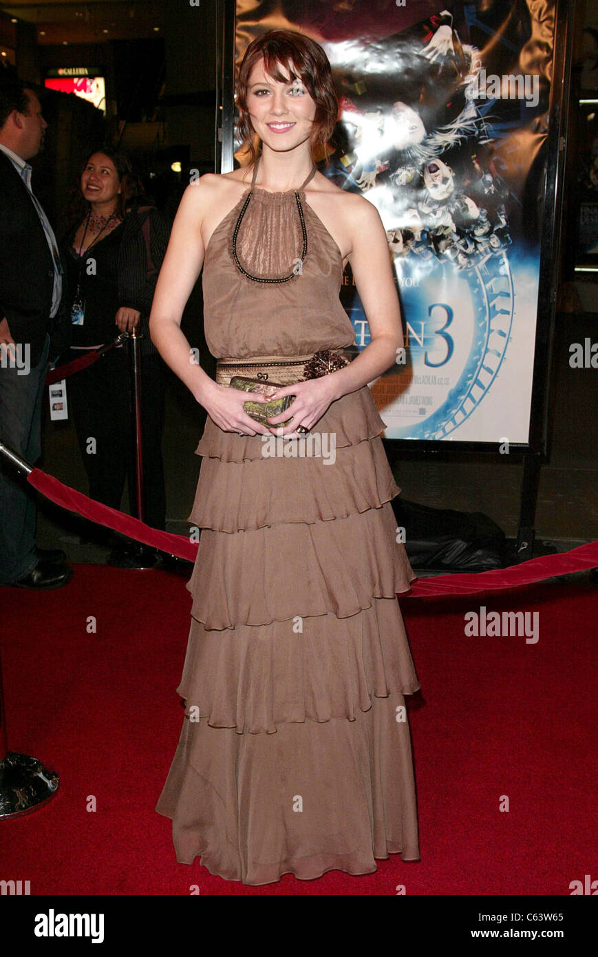 Mary Elizabeth Winstead at arrivals for FINAL DESTINATION 3 Premiere, Grauman's Chinese Theatre, Los Angeles, CA, Stock Photo