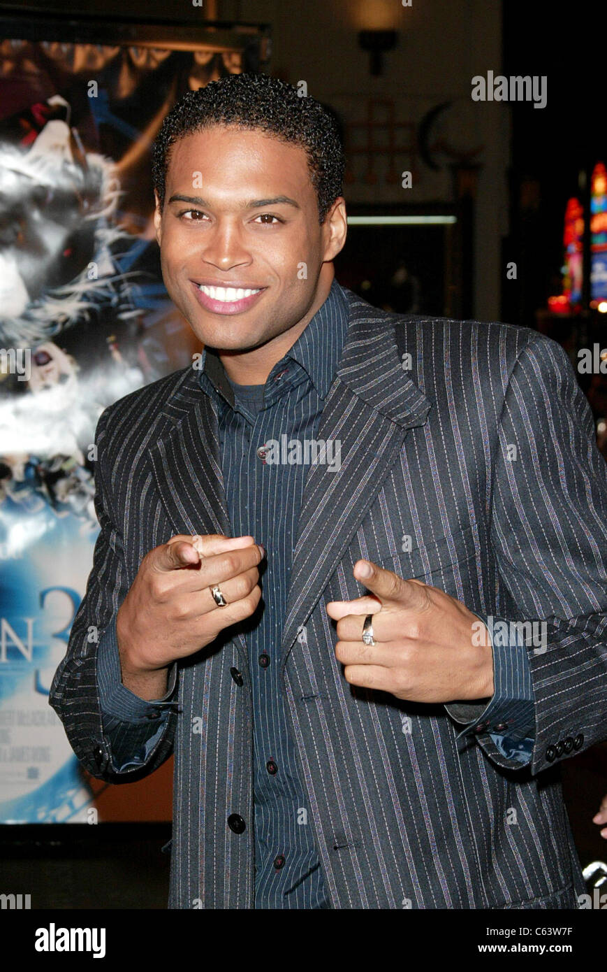 Texas Battle at arrivals for FINAL DESTINATION 3 Premiere, Grauman's Chinese Theatre, Los Angeles, CA, February Stock Photo