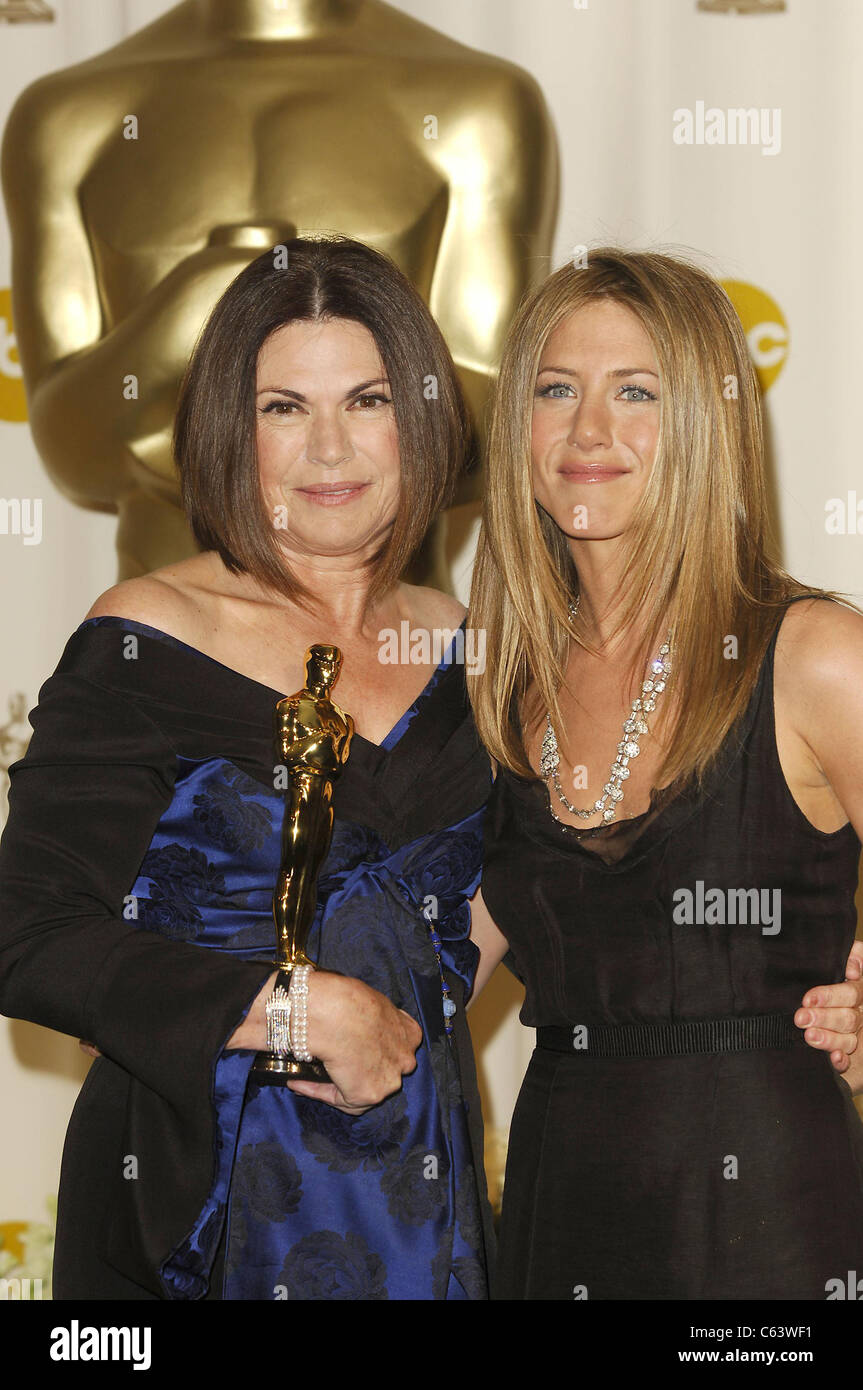 Colleen Atwood Jennifer Aniston In The Press Room For OSCARS 78th Annual Academy Awards Kodak Theater Los Angeles CA March 05 2006