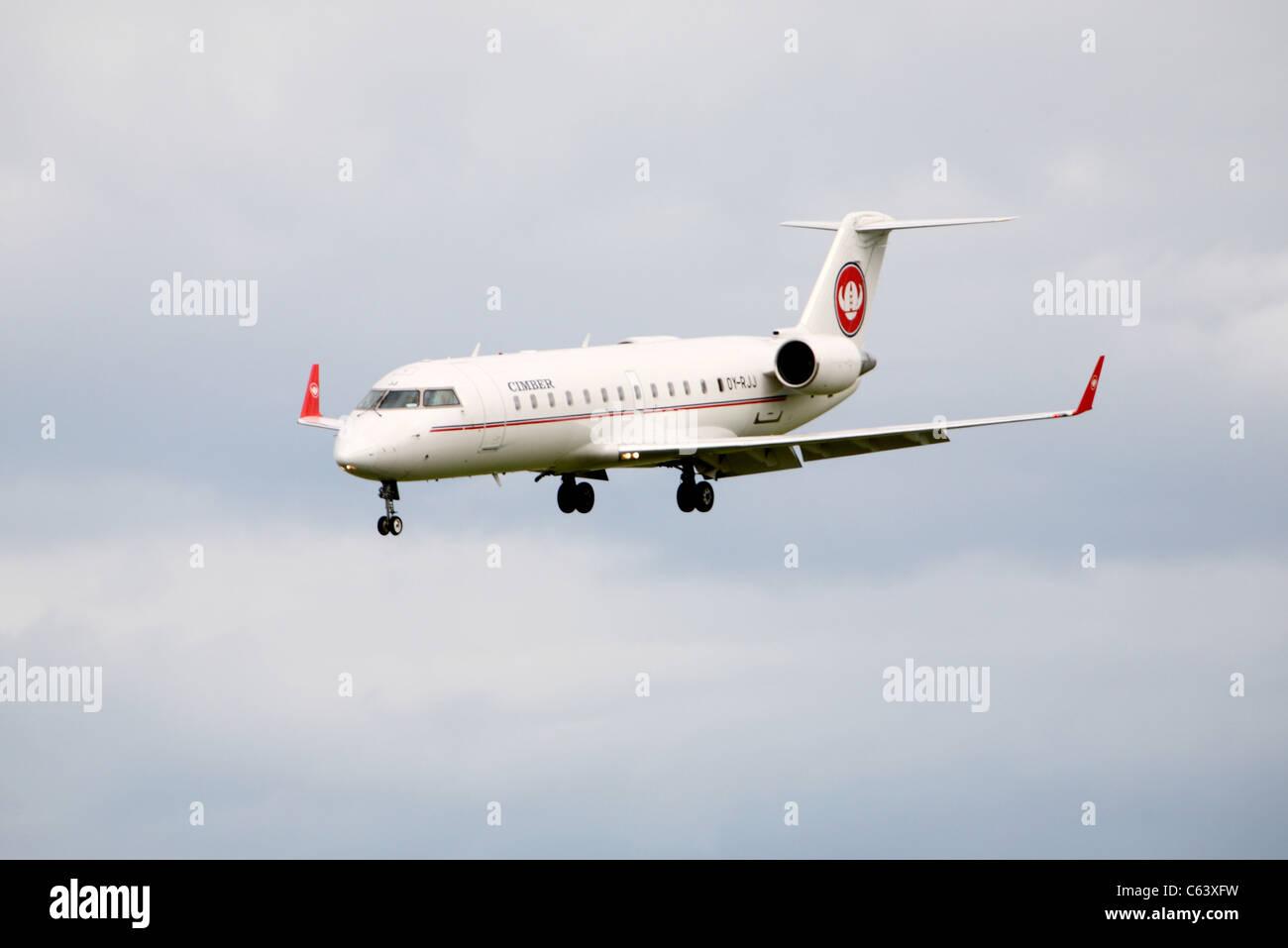 Canadair Regional Jet - Stock Image
