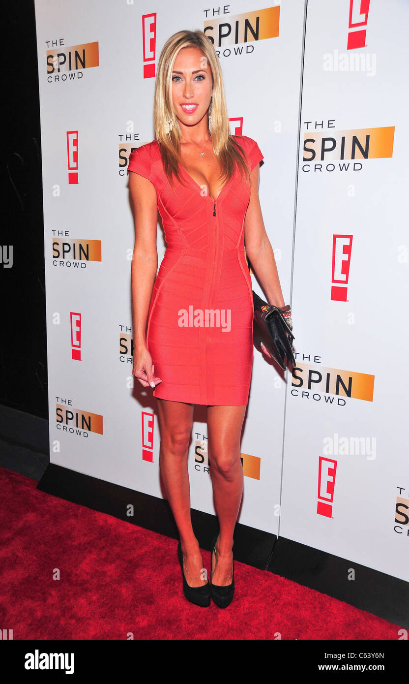 Lauren Stoner at arrivals for THE SPIN CROWD Season Finale Party, Provocateur, New York, NY October 6, 2010. Photo - Stock Image
