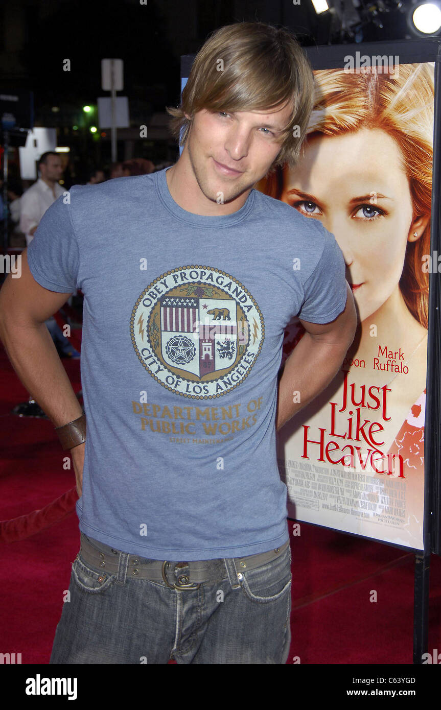 Chad Faust at arrivals for JUST LIKE HEAVEN Premiere, Grauman's Chinese Theatre, Los Angeles, CA, Thursday, - Stock Image