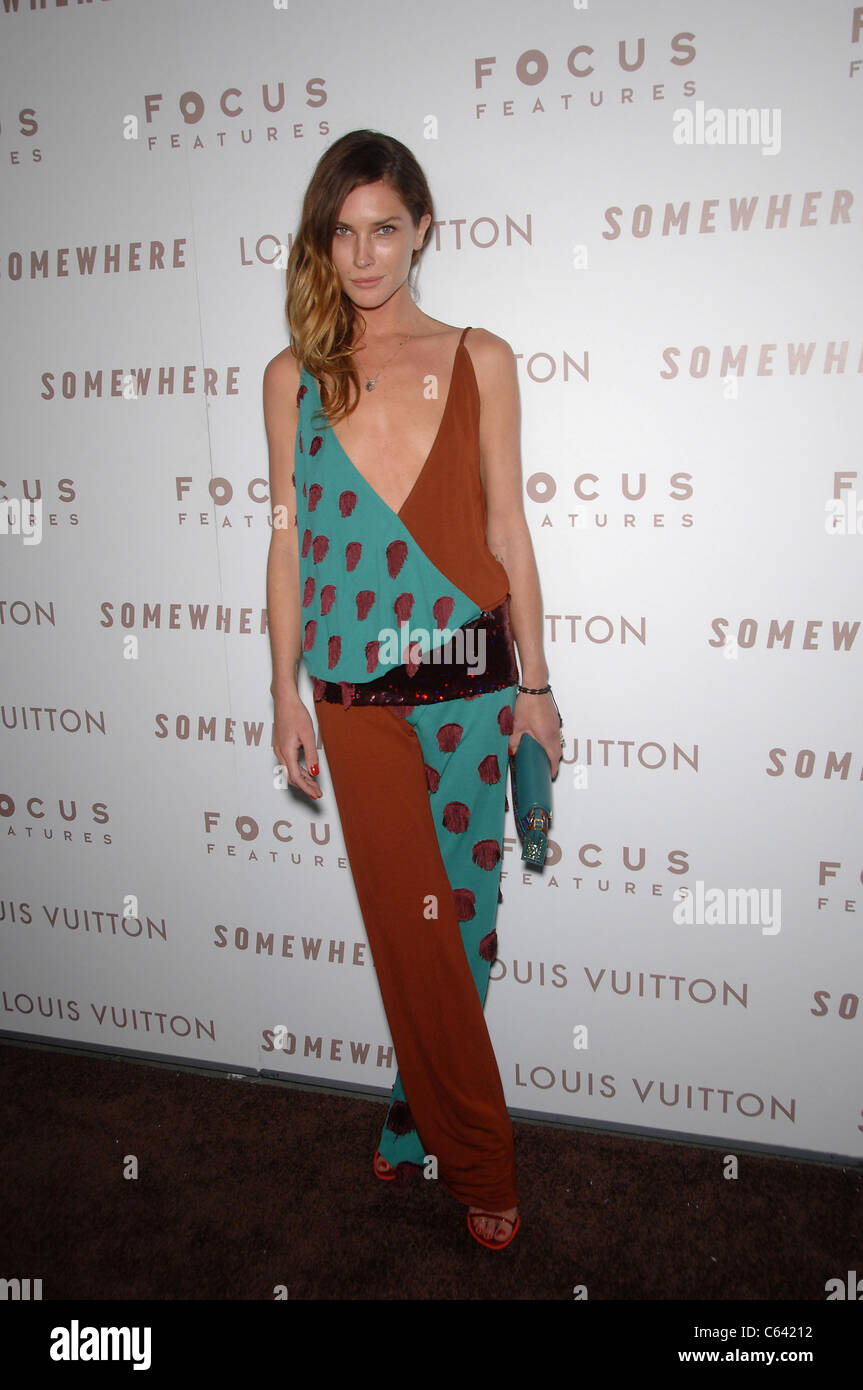83b9ad58f28e Erin Wasson (wearing a Louis Vuitton jumpsuit) at arrivals for SOMEWHERE  Premiere