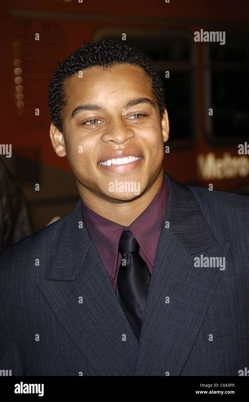 Robert Ri'Chard arrives at the premiere of COACH CARTER, Grauman's Chinese Theater, Los Angeles, CA, January - Stock Image