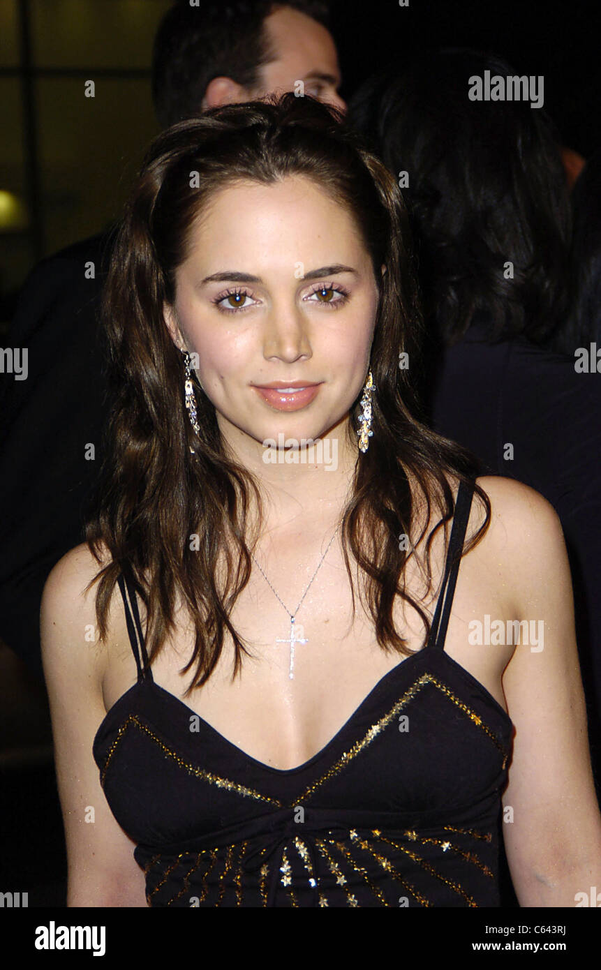 Eliza Dushku arrives at the premiere of COACH CARTER, Grauman's Chinese Theater, Los Angeles, CA, January 13, - Stock Image