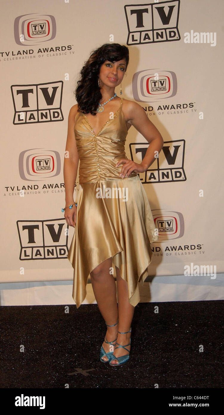 Mya in the press room for TV LAND AWARDS: A CELEBRATION OF