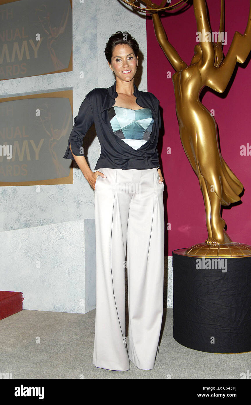 Jami Gertz at the press conference for 57th Annual Primetime Emmy Awards Nominations Announcement, Los Angeles, - Stock Image