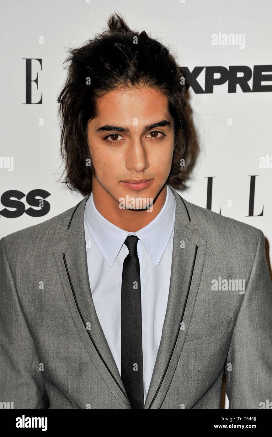 Avan Jogia At Arrivals For Elle And Express 25 At 25 Event Palihouse Stock Photo Alamy