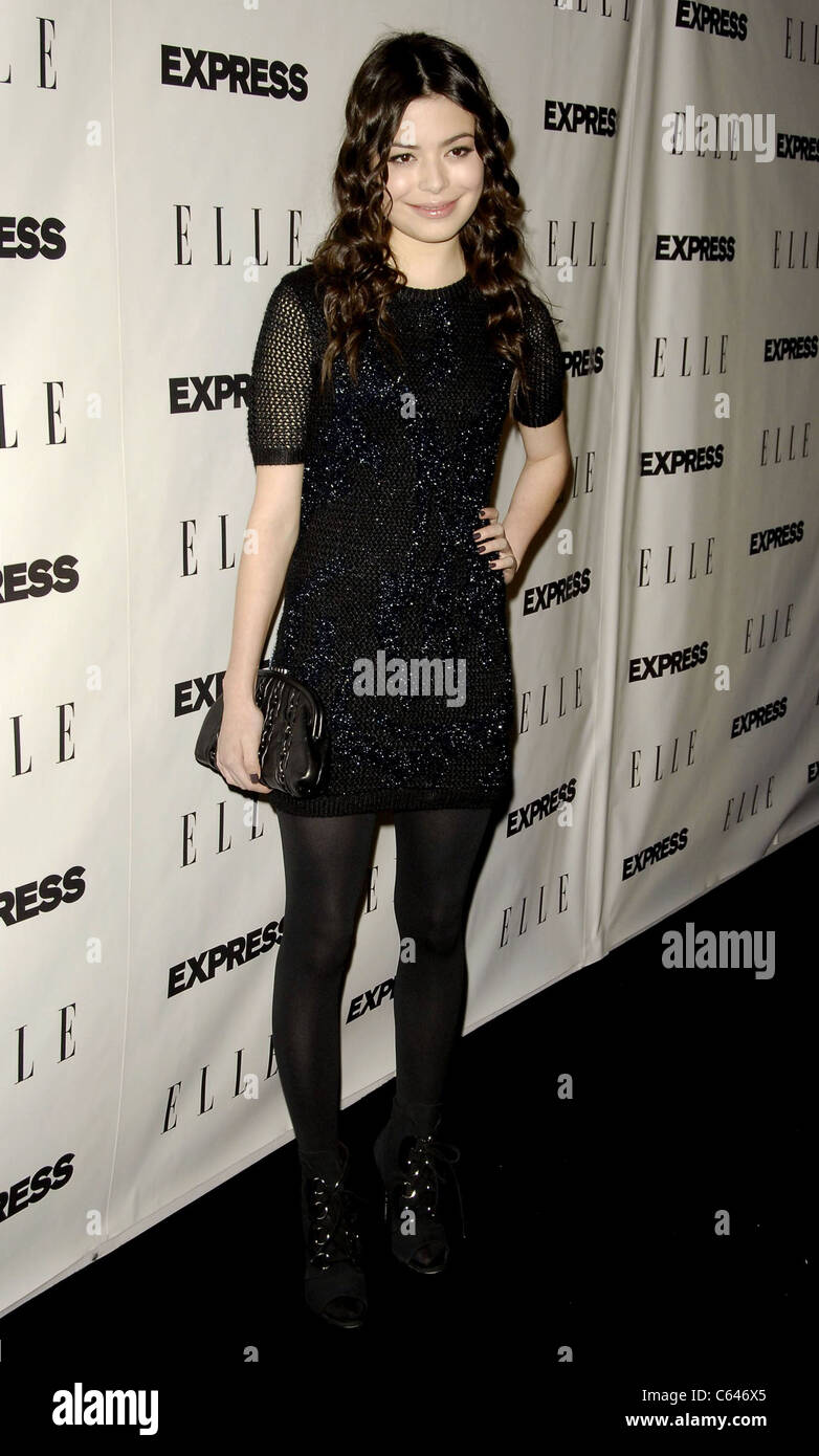 Miranda Cosgrove at arrivals for ELLE and Express 25 at 25 Event, Palihouse in West Hollywood, Los Angeles, CA October - Stock Image