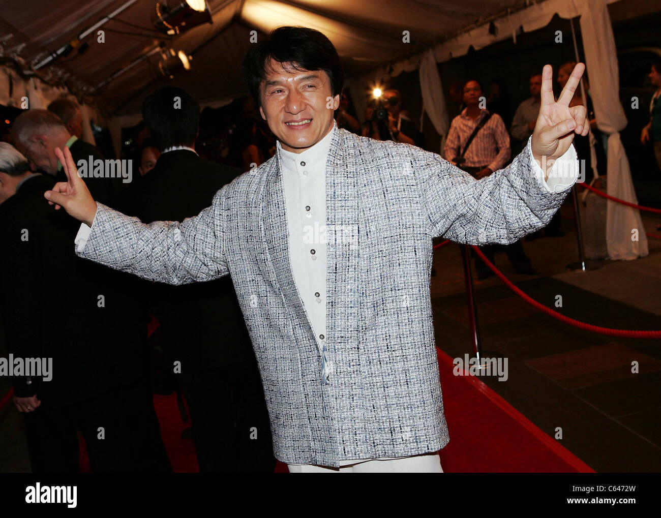 Jackie Chan at arrivals for THE MYTH Premiere at Toronto Film Festival, Roy Thompson Hall, Toronto, ON, September - Stock Image