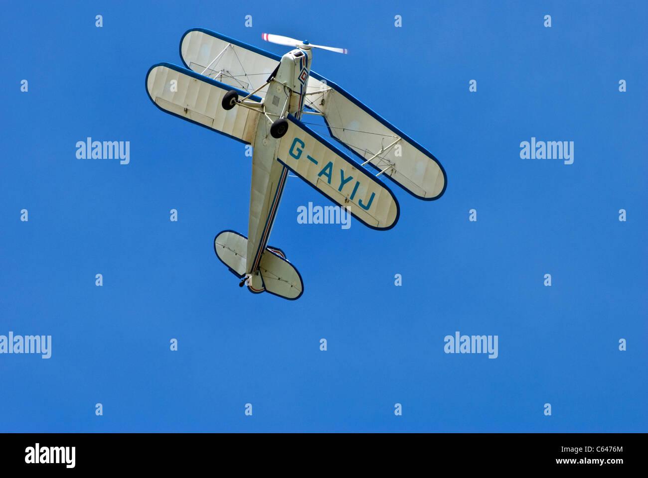 Stampe bi-plane GAYIJ - Stock Image
