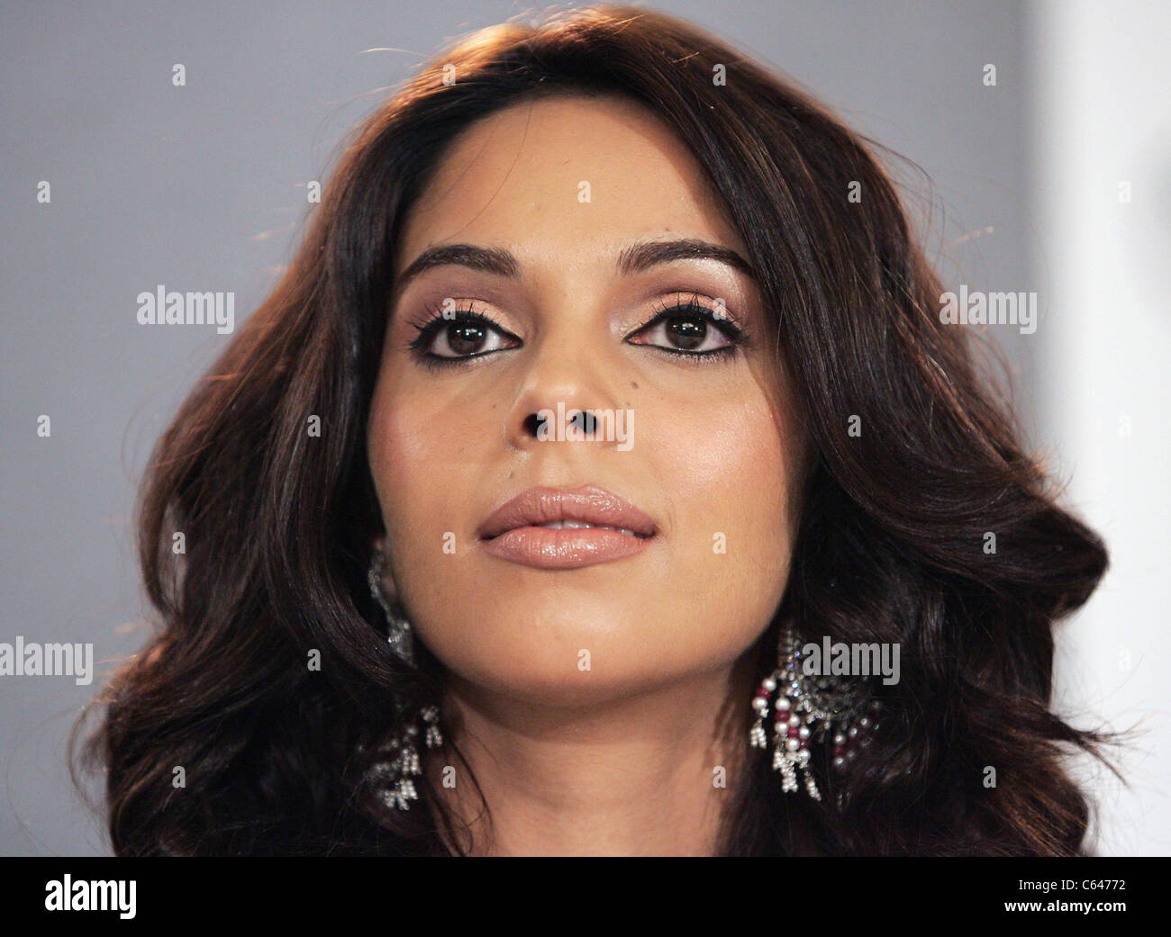 Mallika Sherawat at the press conference for THE MYTH Premiere at Toronto Film Festival, Sutton Place Hotel, Toronto, - Stock Image