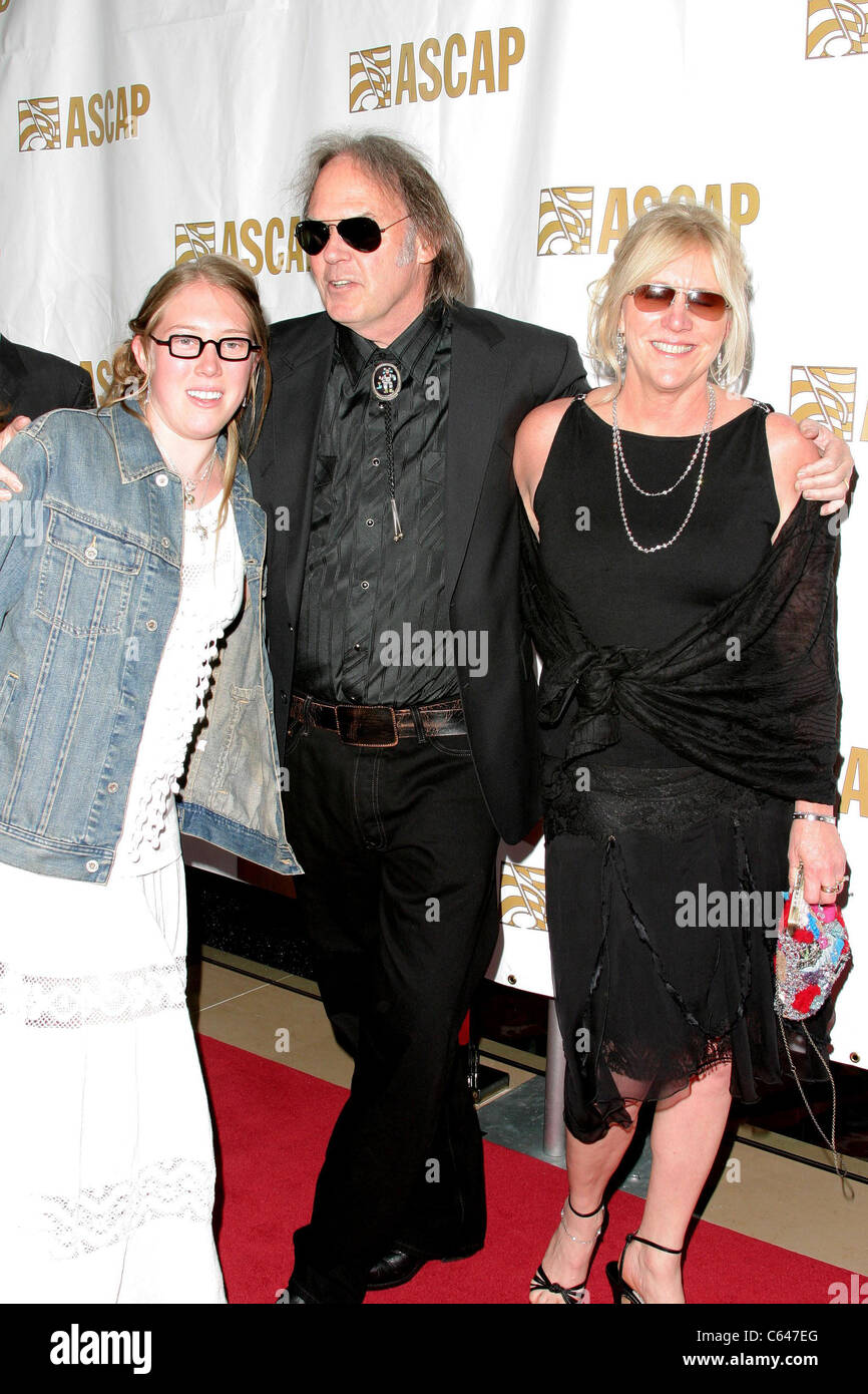 neil young pegi morton at arrivals for ascap pop music