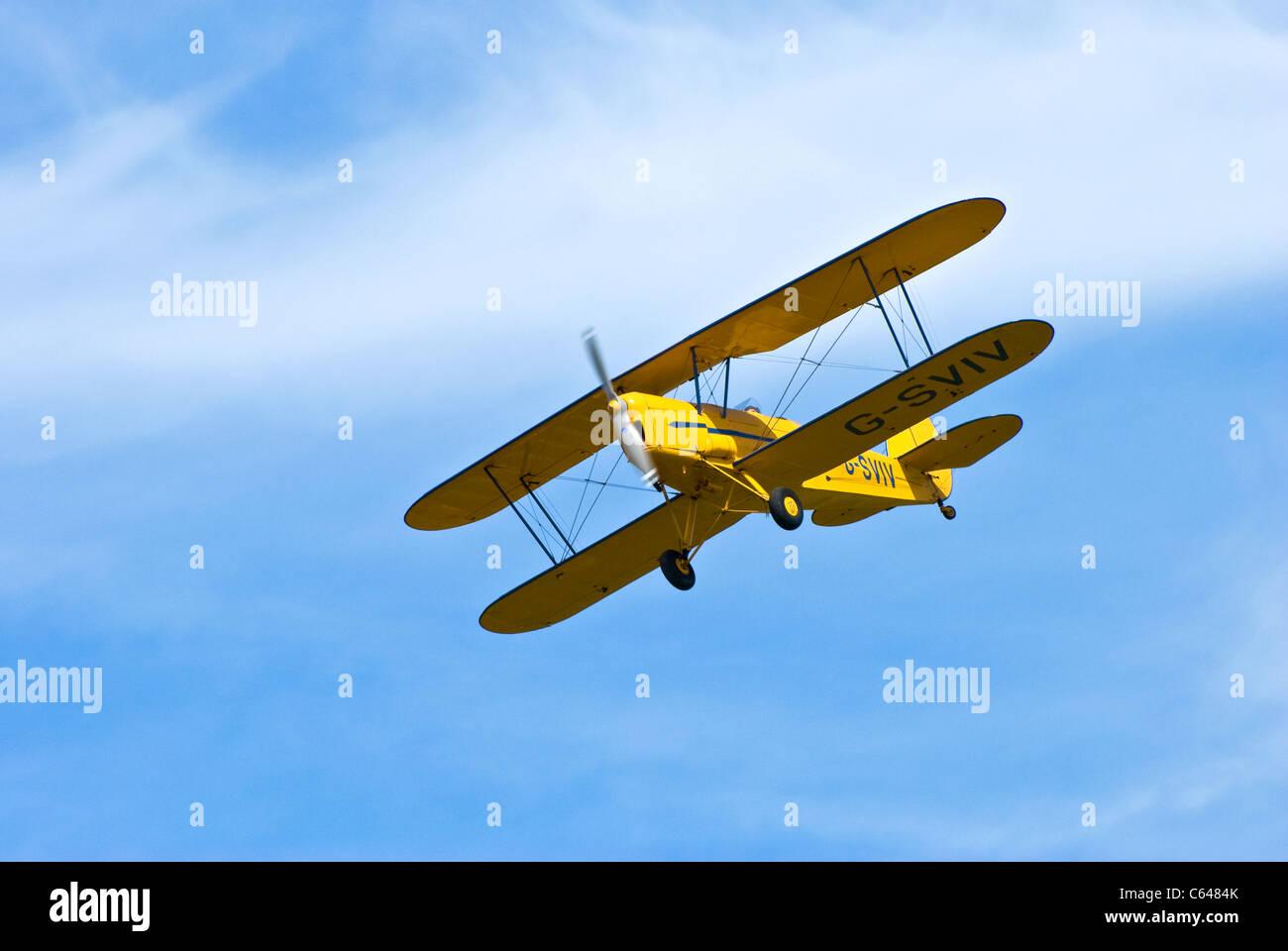 Stampe SV4C bi-plane - Stock Image