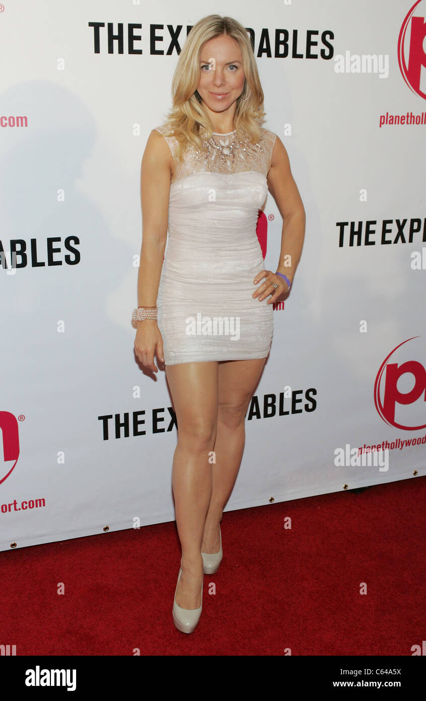 shirly brener at arrivals for the expendables premiere planet stock