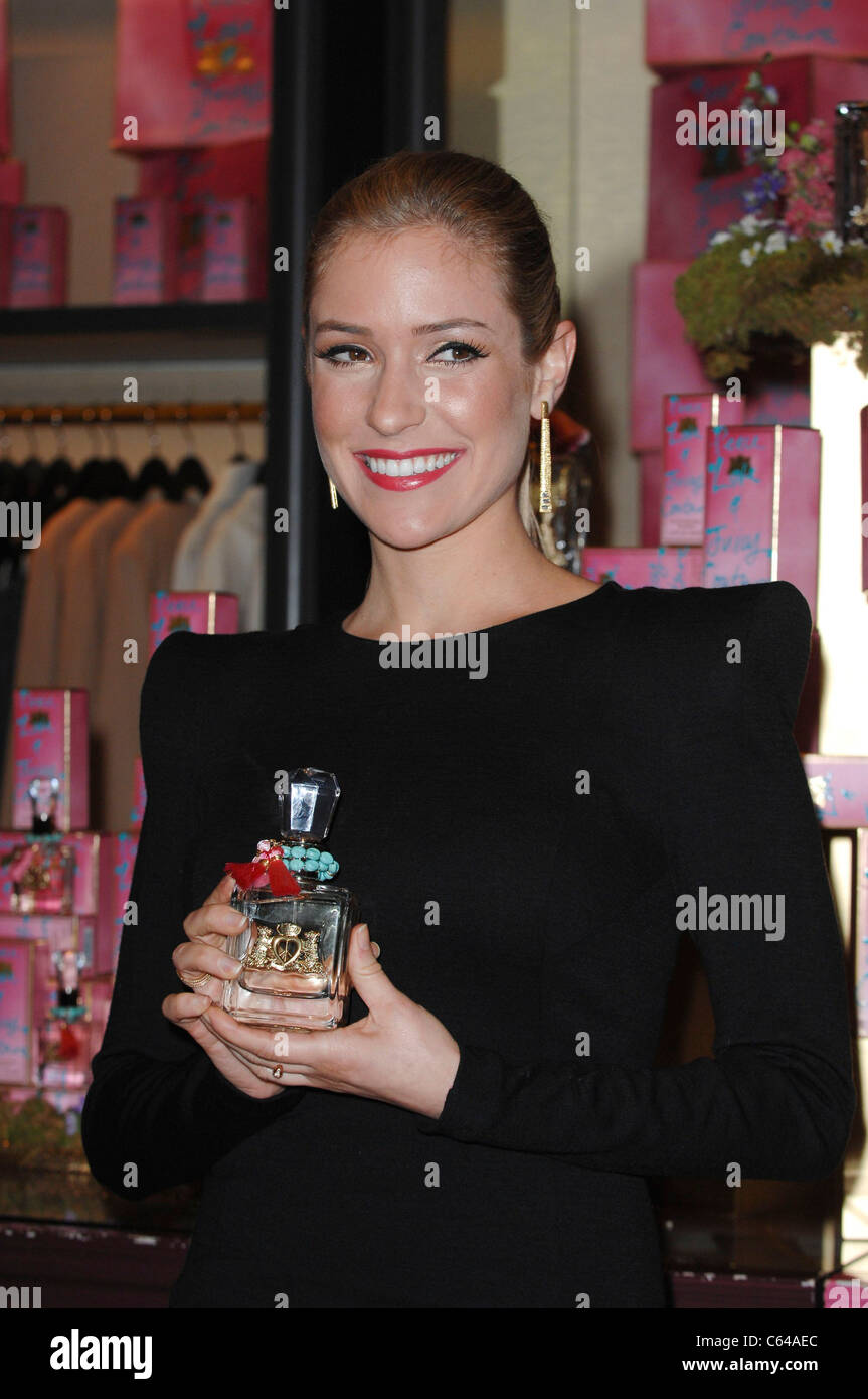 Kristin Cavallari at in-store appearance for Peace Love & Juicy Couture Fragrance Launch, Juicy Couture Store - Stock Image