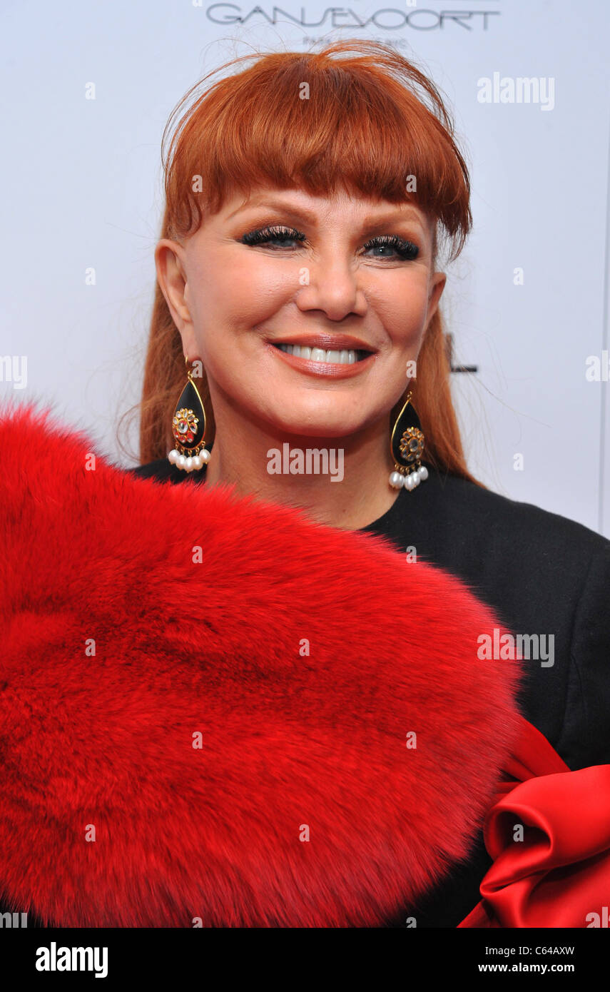 Georgette Mosbacher at arrivals for THE COMPANY MEN Premiere, The Paris Theatre, New York, NY December 8, 2010. Stock Photo