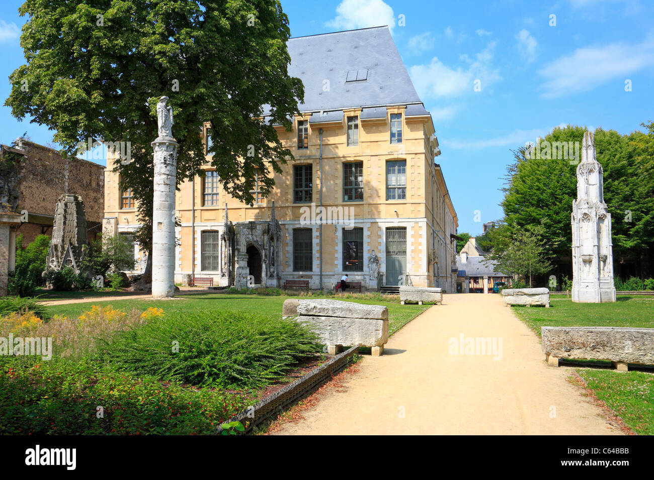 Museum of Natural History, Rouen, Normandy, France. - Stock Image