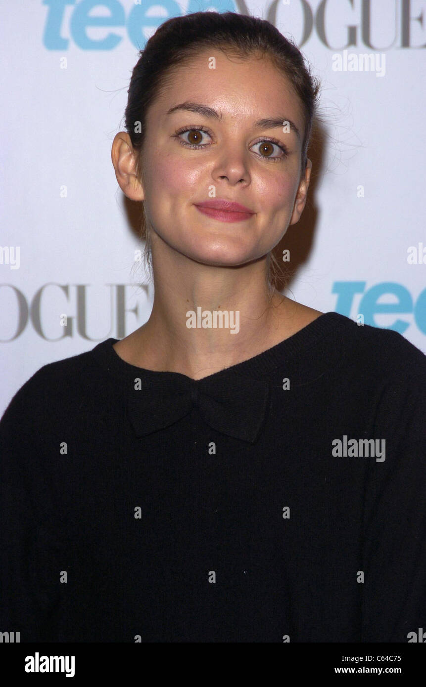 Nora Zehetner at arrivals for TEEN VOGUE Young Hollywood Issue Party, The Hollywood Roosevelt Hotel, Los Angeles, - Stock Image