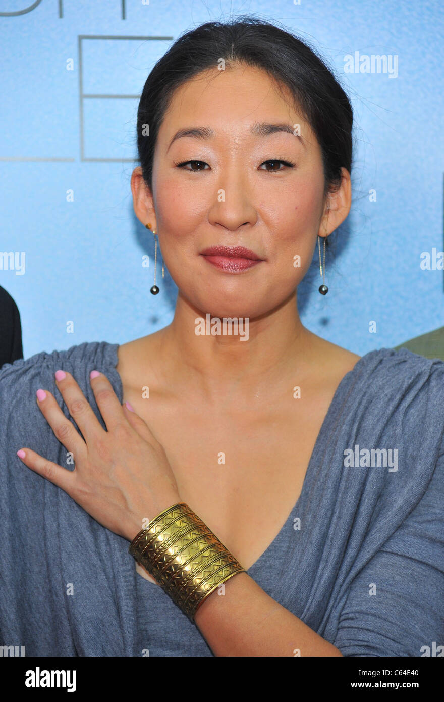 Sandra Oh at arrivals for RABBIT HOLE Premiere, The Paris Theatre, New York, NY December 2, 2010. Photo By: Gregorio - Stock Image