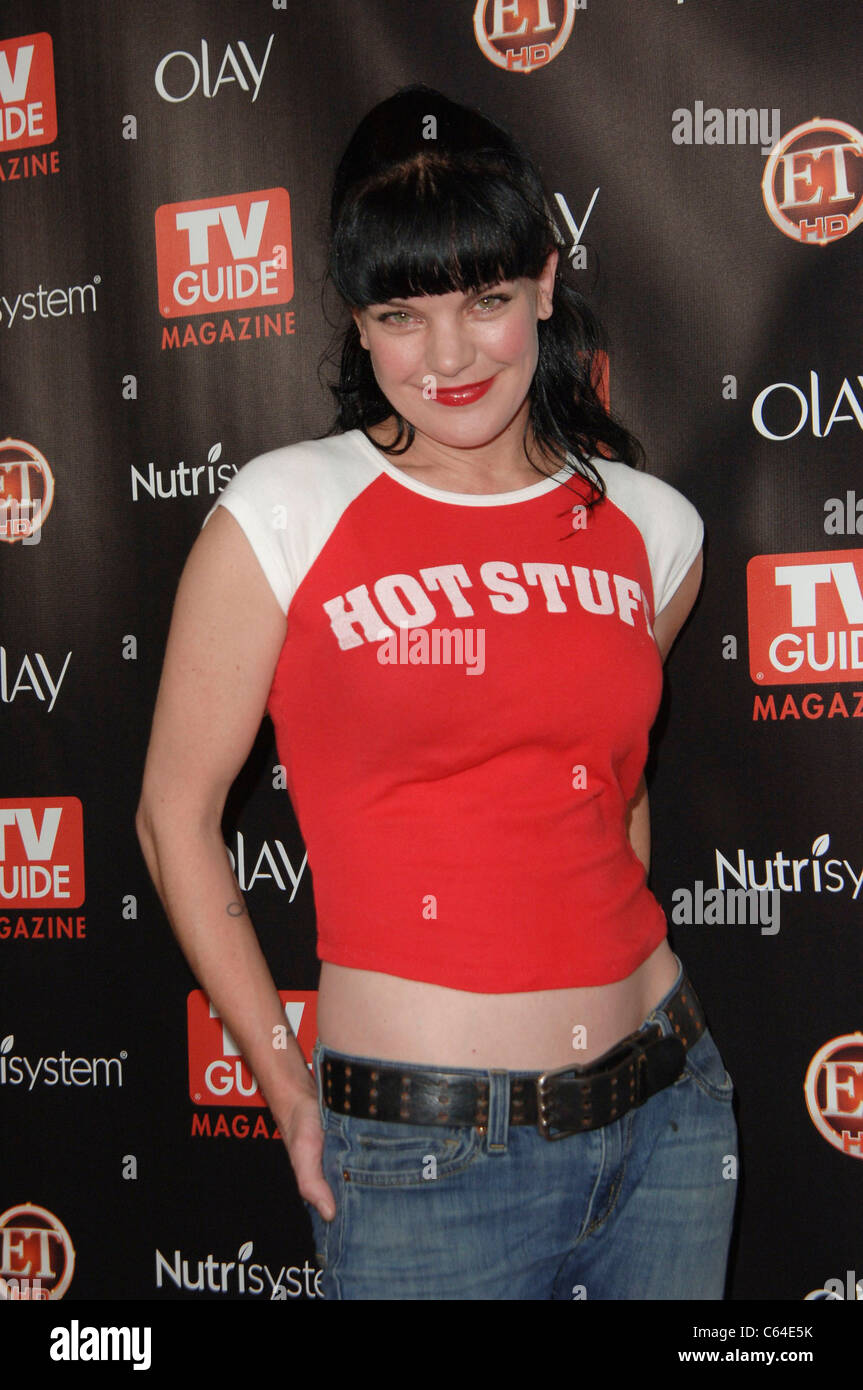Pauley Perrette at arrivals for TV GUIDE Magazine\'s 2010 HOT LIST ...