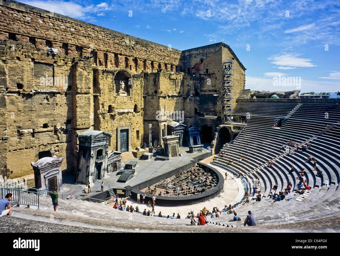 """""""Théatre Antique"""" Antique Roman Theatre, Orange, Vaucluse ...  """"Théatre ..."""