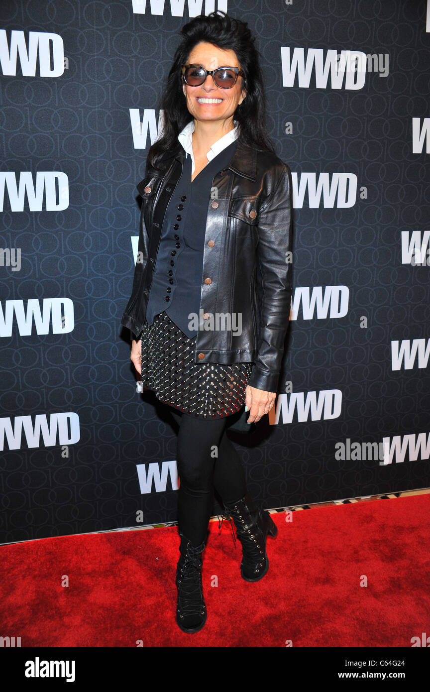 Norma Kamali at arrivals for Women's Wear Daily (WWD) 100th Anniversary Gala, Cipriani Restaurant 42nd Street, - Stock Image