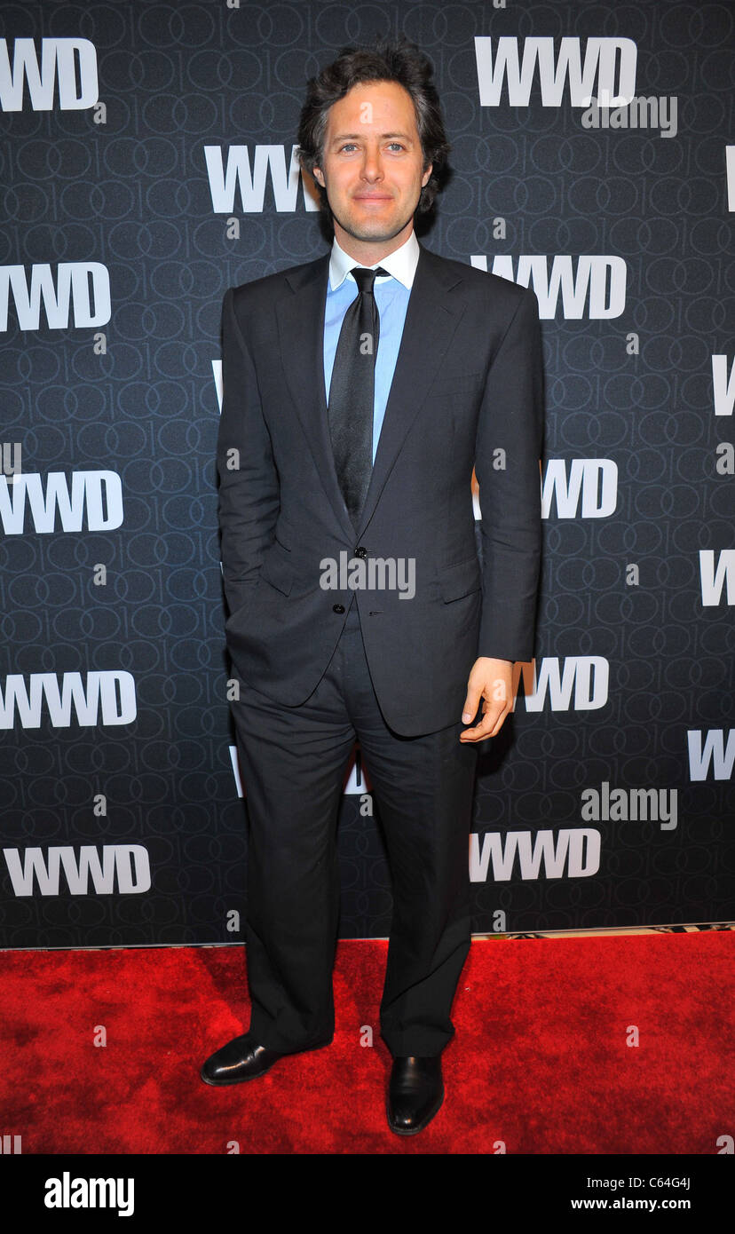 David Lauren at arrivals for Women's Wear Daily (WWD) 100th Anniversary Gala, Cipriani Restaurant 42nd Street, New Stock Photo