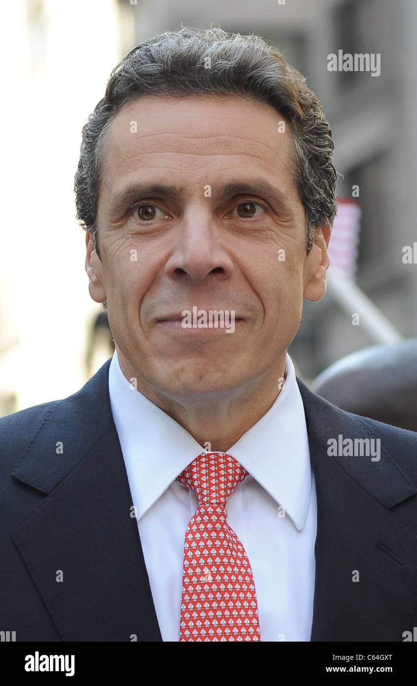 Andrew Cuomo in attendance for 66th Annual New York Columbus Day Parade, Manhattan, New York, NY October 11, 2010. - Stock Image