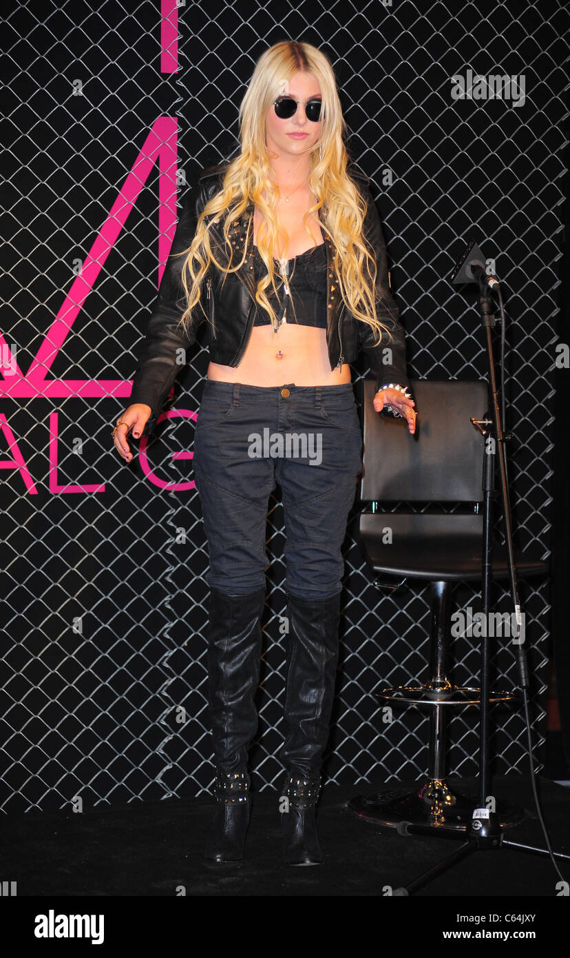 9c768dc90e42 Taylor Momsen at in-store appearance for Material Girl Clothing Line Launch  at MACY's, Macy's Herald Square Department Store, New York, NY August 3,  2010.