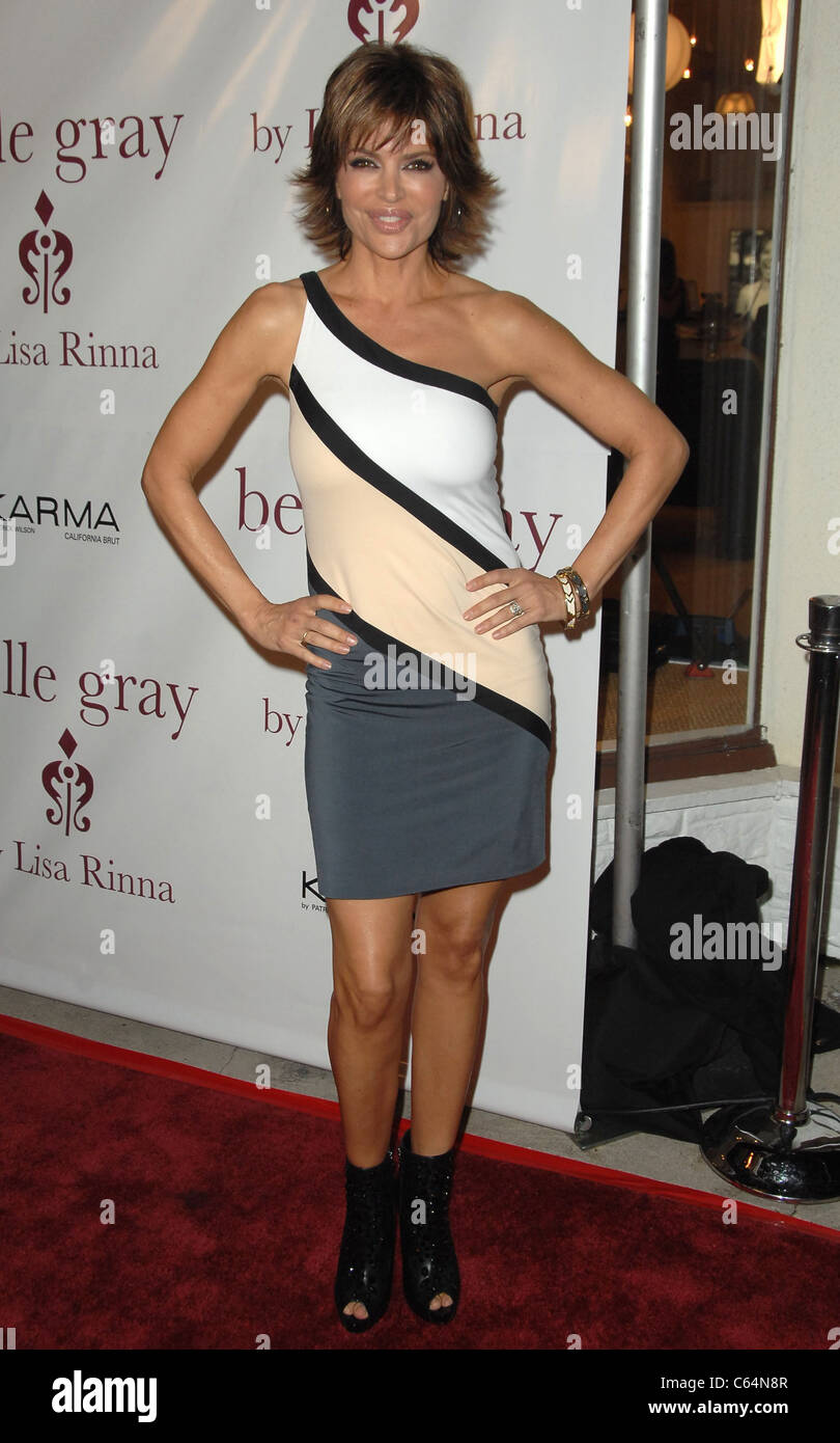 Lisa Rinna in attendance for Belle Gray Boutique's 7th Anniversary, Belle Gray Boutique, Los Angeles, CA February - Stock Image