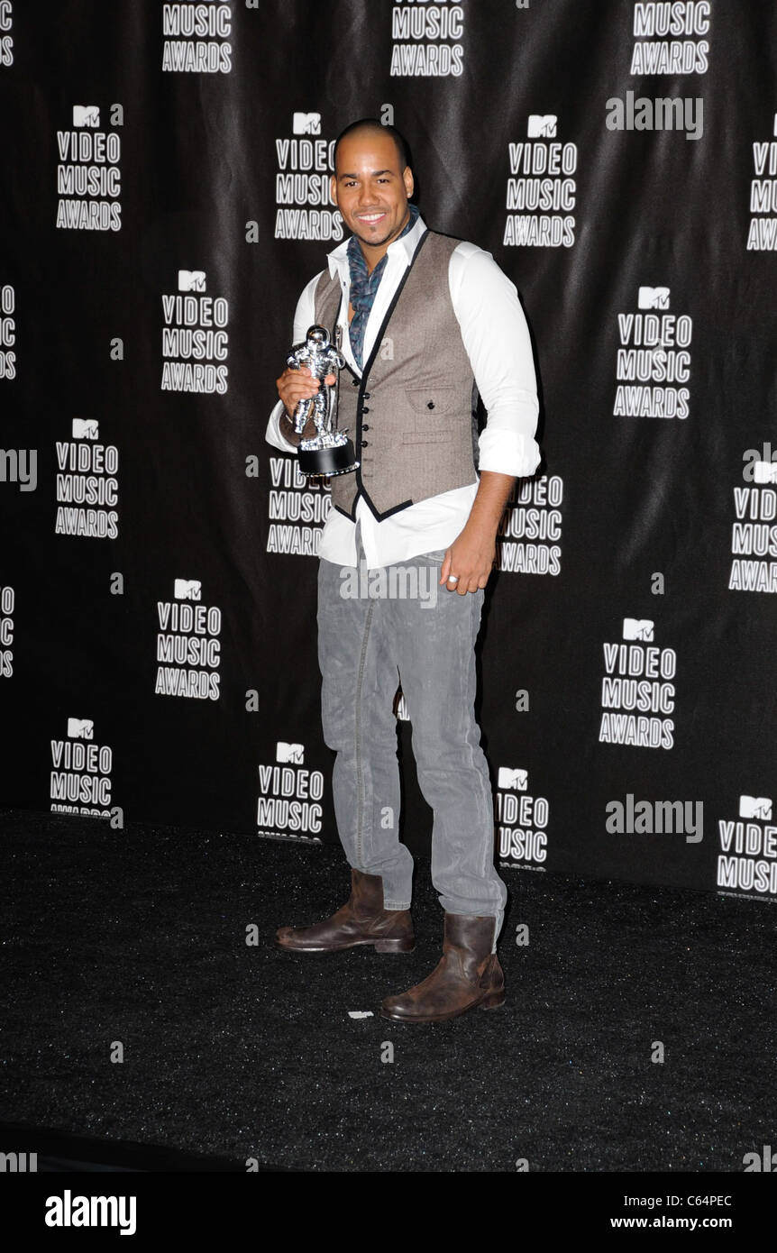 Romeo in the press room for 2010 MTV Video Music Awards VMA's - PRESS ROOM - NO U.S. PRINT USAGE UNTIL 9/16/2010, - Stock Image