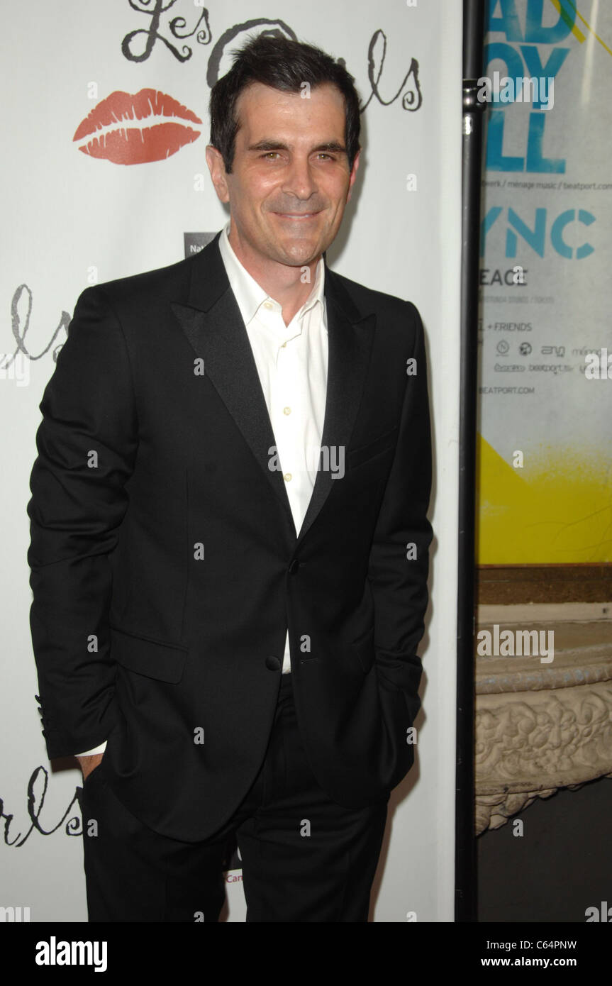 Ty Burrell at arrivals for LES GIRLS Tawdry 10th Annual Cabaret, The Avalon in Hollywood, Los Angeles, CA October - Stock Image