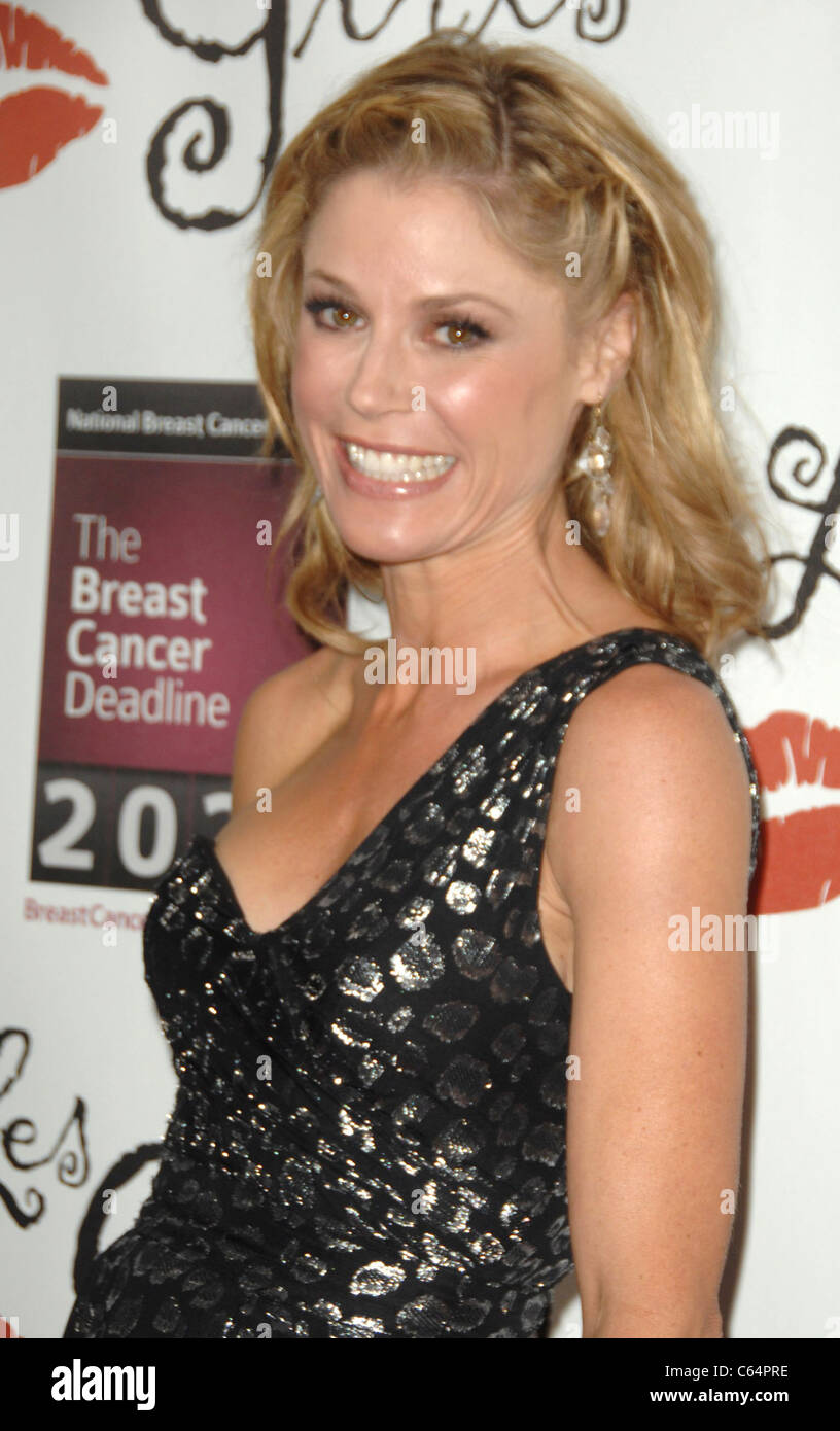 Julie Bowen at arrivals for LES GIRLS Tawdry 10th Annual Cabaret, The Avalon in Hollywood, Los Angeles, CA October - Stock Image
