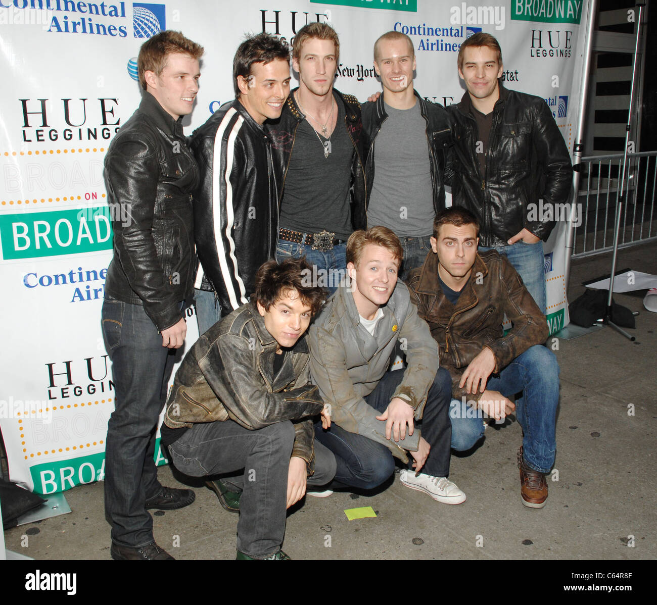 Cast members from West Side Story in attendance for Broadway on Broadway 2010 Concert Kick-Off, Times Square, New - Stock Image