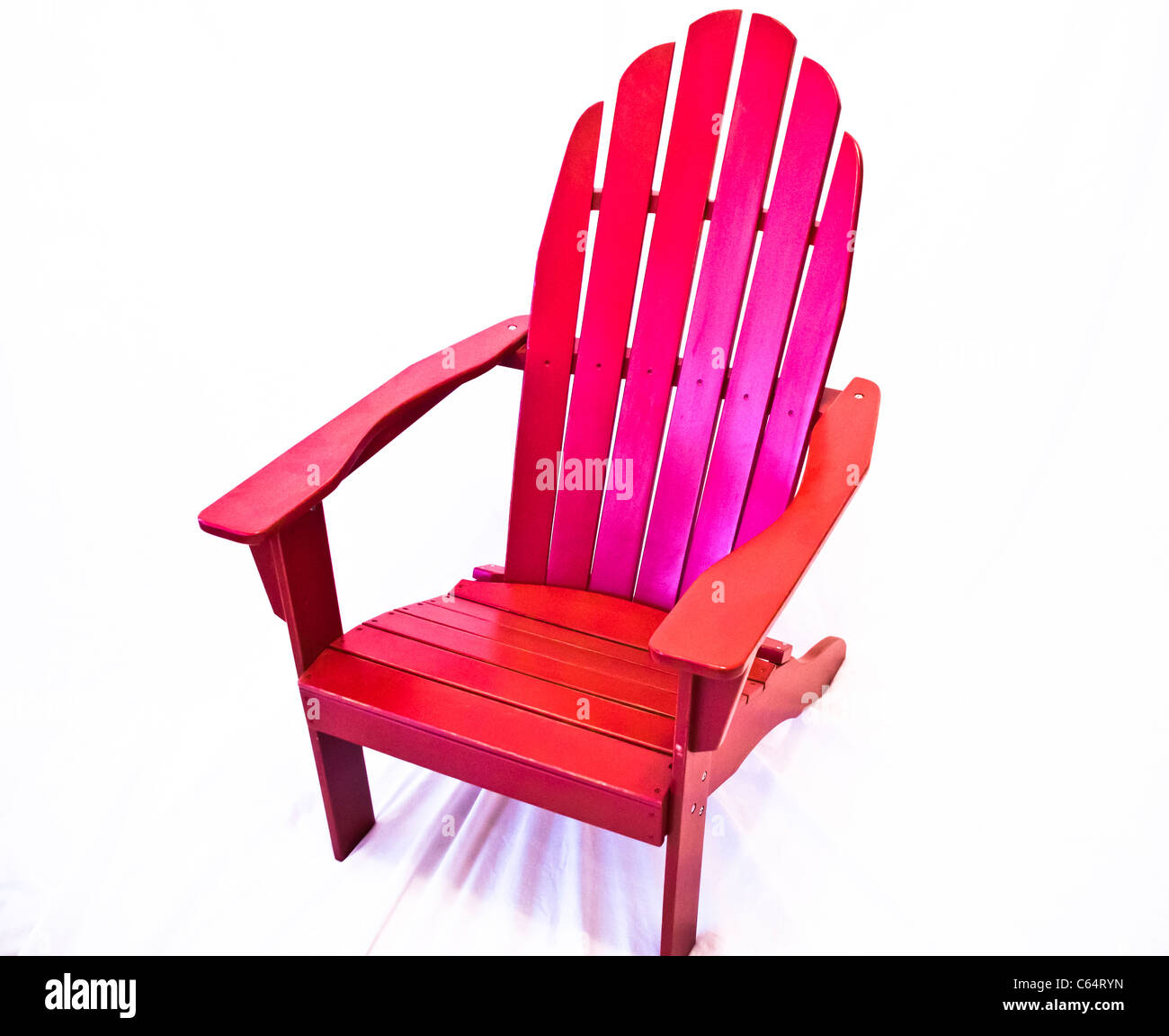 Swell A Adirondack Chair Shot On A White Background Some Beatyapartments Chair Design Images Beatyapartmentscom