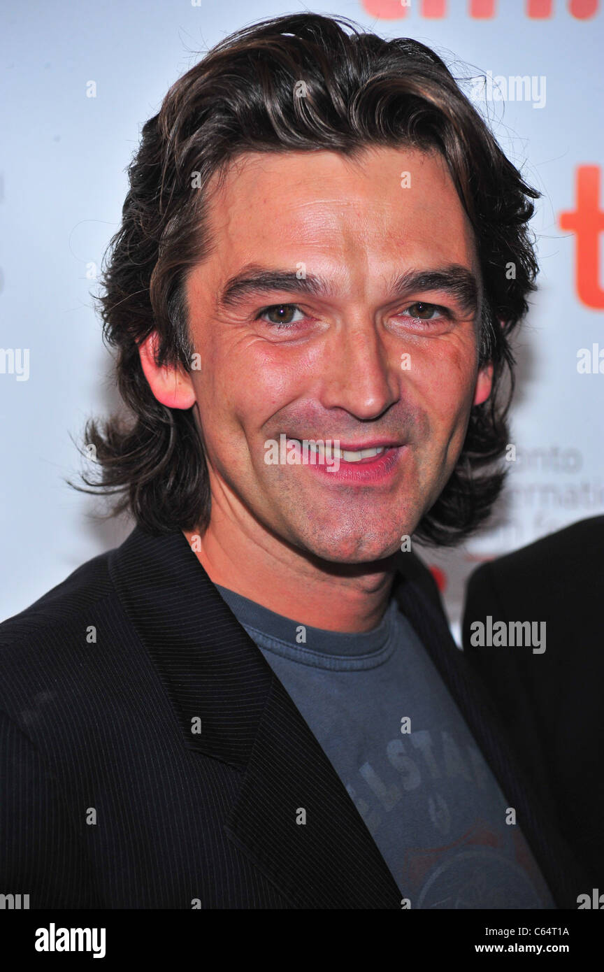 Justin Chadwick at arrivals for FIRST GRADER Premiere at Toronto International Film Festival (TIFF), Elgin Theatre, - Stock Image