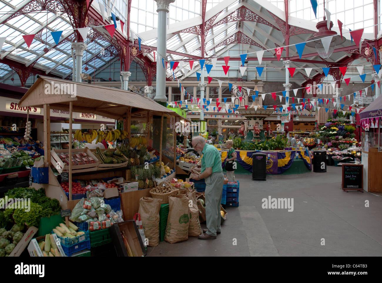 Fruit and Veg market - Stock Image