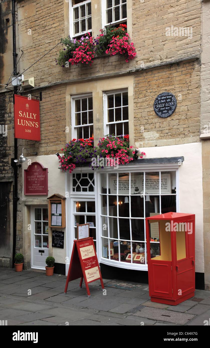 Sally Lunns tearooms, Bath, England Stock Photo