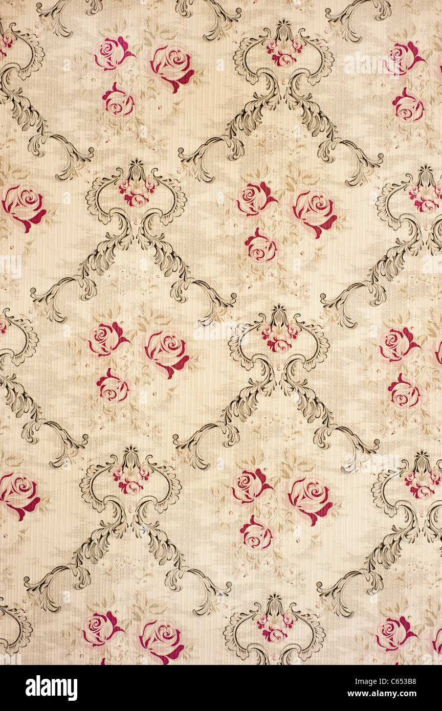 Retro Wallpaper Background Stock Photo 38221100