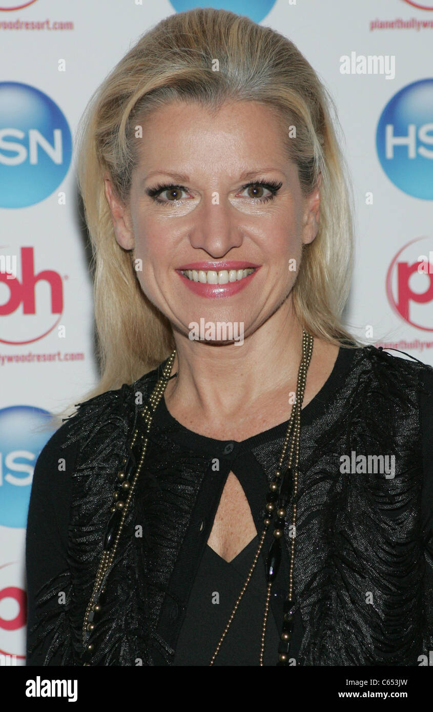 Mindy Grossman (CEO HSN, Inc) at arrivals for Home Shopping Network (HSN) VIP Cocktail Party, Planet Hollywood Resort - Stock Image